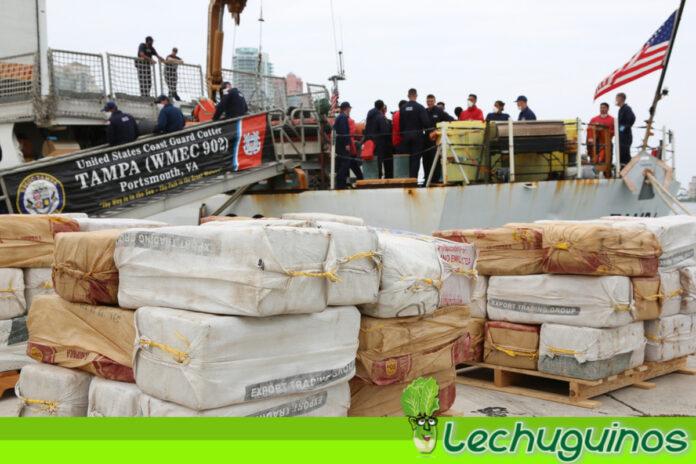 Guardia Costera de EEUU captura embarcación con 2500 kilos de cocaína frente a costas de Colombia