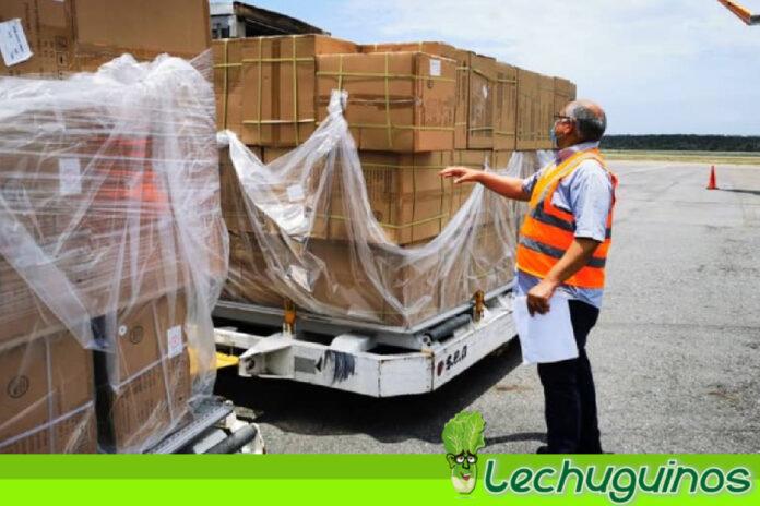 Llegó a Venezuela cargamento con insumos y equipos médicos desde China