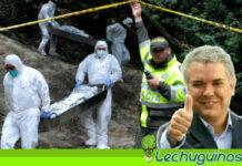 Duque crea falso positivo para lavar masacres en Colombia