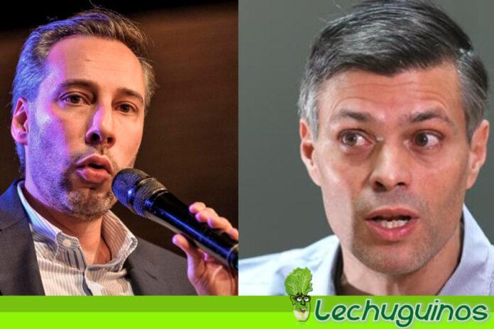 Roberto Deniz estuvo en España reunido con Leopoldo López planificando un nuevo Fake contra Venezuela