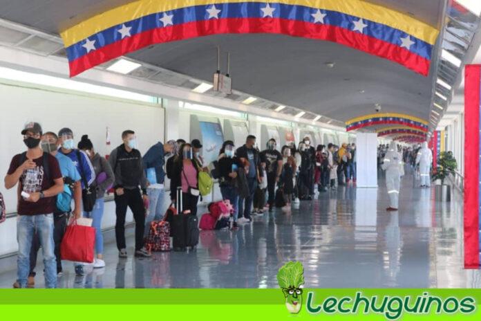 Unos 200 connacionales provenientes de chile regresaron a Venezuela (+VUELTA A LA PATRIA)