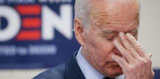 Manifestantes interrumpen a Biden en rechazo a centros de arresto de migrantes
