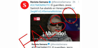 A Jesús Santrich lo mataron en Colombia