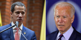 Biden le puso fecha de vencimiento al gobierno imaginario de Guaidó