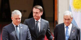 Duque, Bolsonaro y Piñera enfrentan cargos de crímenes contra la humanidad en la Corte Penal Internacional.