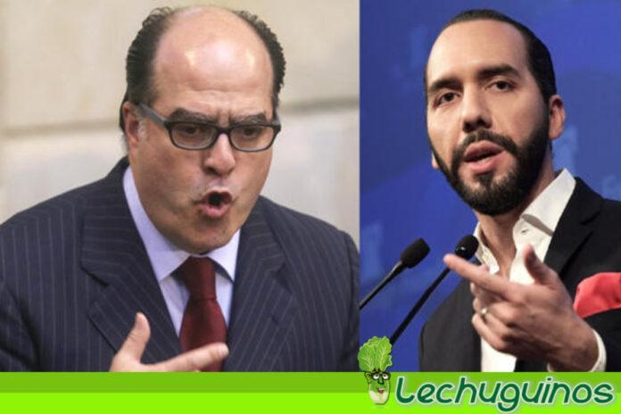 El desquiciado presidente de El Salvador le dio hasta con el todo al asesino de Julio Borges (+TUITS)