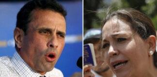 María Corina Machado asegura que Capriles no es oposición