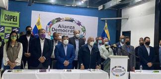 Partidos de oposición ratifican su compromiso con la vía electoral