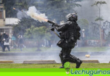Policía de Duque reprimió a congresistas que verificaban violación de DDHH en protestas (+VIDEO)