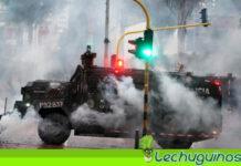Policía de Duque usa proyectiles múltiples contra manifestantes en Colombia