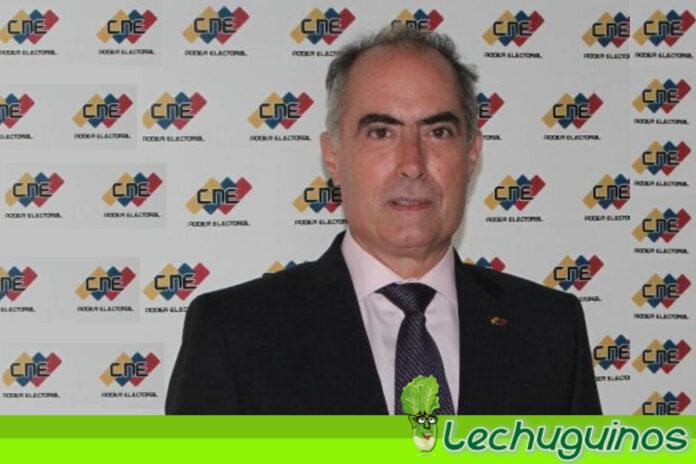 Rector Picón_ CNE realizará operativo nacional para actualizar Registro Electoral