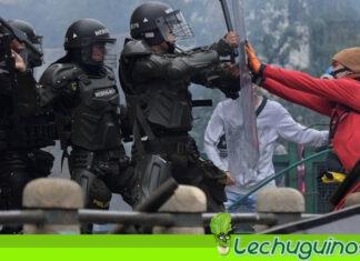 Reportan 87 desaparecidos durante las manifestaciones en Colombia