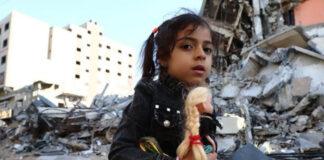 Al menos 63 niños han muerto en bombardeos de Israel a Palestina