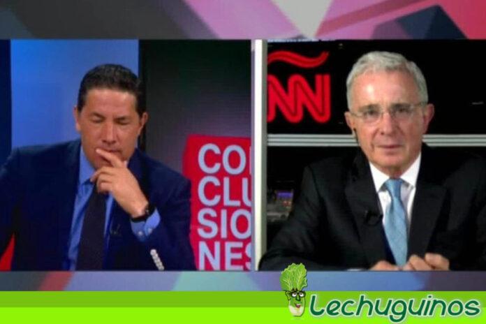 Vea el toma y dame entre Fernando del Rincón y Álvaro Uribe por represión en Colombia