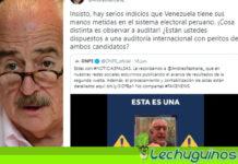 Andrés Pastrana quedó en ridículo al decir falsamente que hay infiltrados venezolanos en el sistema electoral de Perú