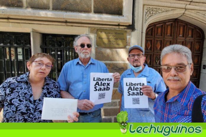 Comité de New York #FreeAlexSaab entregó copia de comunicación del Comité de DD.HH. de la ONU a la Misión Permanente de la República de Cabo Verde ante las Naciones Unidas