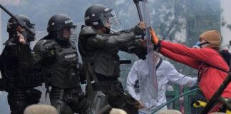 Policía de Duque no cesa represión de protestas contra el Gobierno colombiano