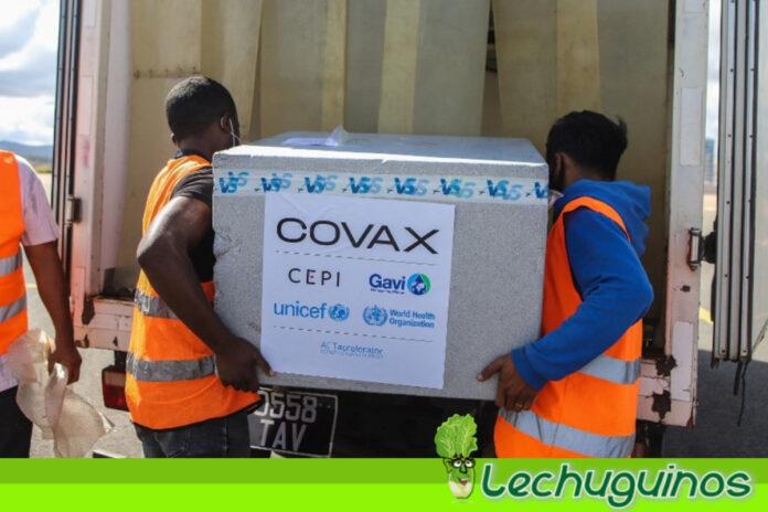 Venezuela recibió primer lote de vacunas del mecanismo Covax