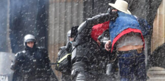 Esmad usó una estación de buses en Bogotá para torturar manifestantes