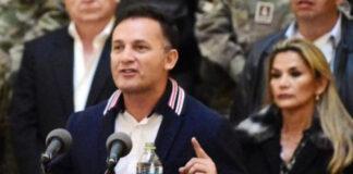 Ex Ministro de Defensa de Bolivia planeó desplegar a mercenarios de EEUU para dar golpe contra Arce
