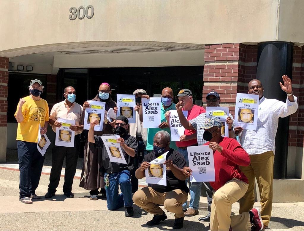 Movimiento #FreeAlexSaab entregó copia de comunicación del Comité de DD.HH. de la ONU al consulado de Cabo Verde