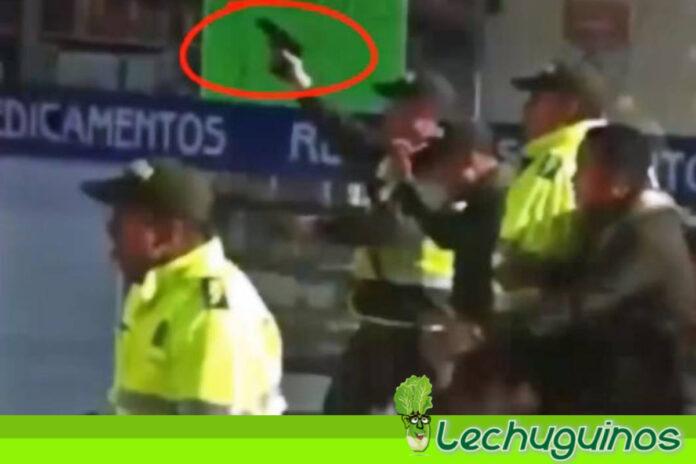 Policía de Duque dispara a en contra de manifestantes desarmados