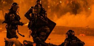 Un joven murió en Bogotá luego de violenta represión de la Policía de Duque