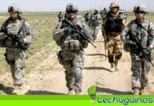 Vea como soldados de EEUU huyen espantados por ataque de un camello