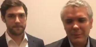 Divulgan video de Iván Duque junto a dueño de empresa que contrató a mercenarios para matar a Jovenel Moise