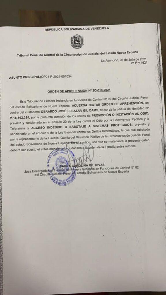 Dictan orden de aprehensión contra hacker Gerardo Gil Dams alias @ThePinguinHDP