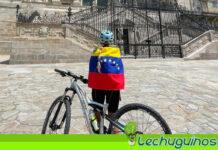 Vea la costosa bicicleta que utiliza Lilian Tintori en España