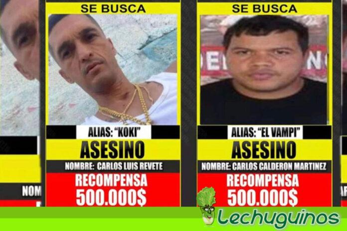 Confirman la presencia de delincuentes _El Vampi_ y _Koki_ en Colombia