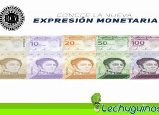 Conozca el nuevo cono monetario que circularan a partir del 1º de octubre