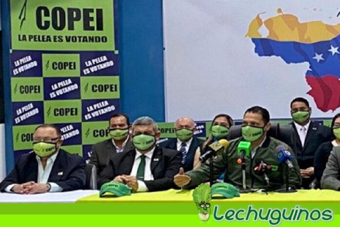 Copei participa en fases del Cronograma Electoral de cara a Megaelecciones