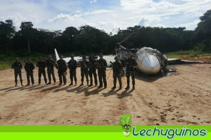 Hernández Lárez_ Aeronaves del narcotráfico que intenten violar nuestro espacio aéreo serán neutralizadas