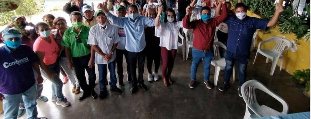 Candidato opositor a la gobernación de Mérida armó tremenda rumba mientras el municipio donde es alcalde está en emergencia