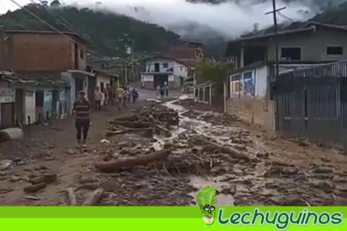 Presidente Maduro declara emergencia en Mérida por fuertes lluvias