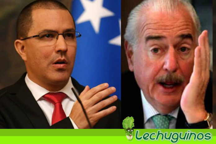 Vea como le respondió el canciller Jorge Arreaza a Andrés Pastrana