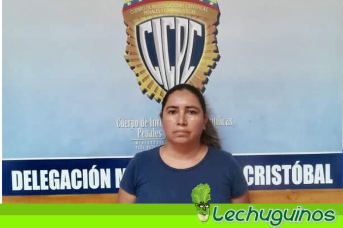 Detenida mujer que golpeó salvajemente a un anciano en Táchira