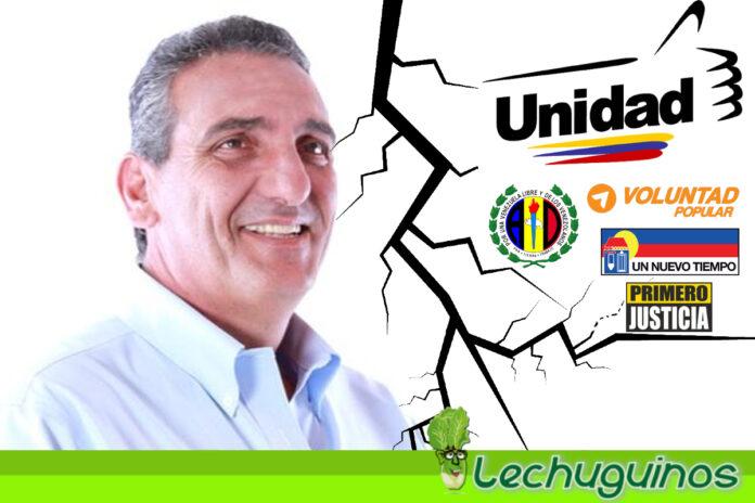 Scarano rechaza apoyo de la MUD en Carabobo porque G4 le negó imponer a familiares como candidatos