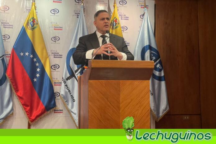 Tarek William Saab informó que Venezuela inició trámites de extradición de El Pollo Carvajal
