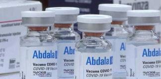 Venezuela recibe 900 mil dosis de la vacuna cubana Abdala